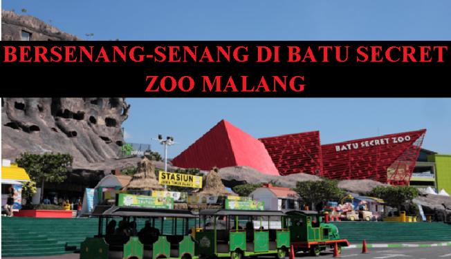 Bersenang Senang Di Batu Secret Zoo Malang Erieairpark Com
